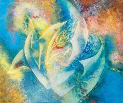 Intuïtief schilderij - Asymmetrisch en kleurrijk