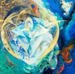 Intuïtief schilderij - De kosmos