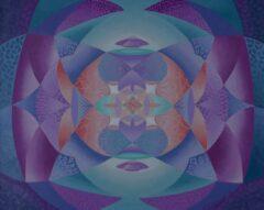 Intuïtief schilderij – Mystical Layers