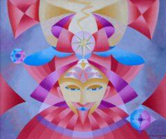 Intuïtief schilderij – De Wachter