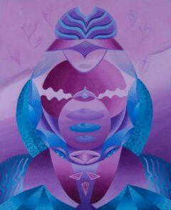 Intuïtief schilderij – Deva's